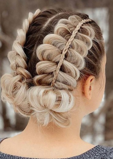 Double Stacked Dutch Braids to Wear in 2019