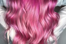 Fresh Pie Pink Hair Color Styles & Highlights for 2019