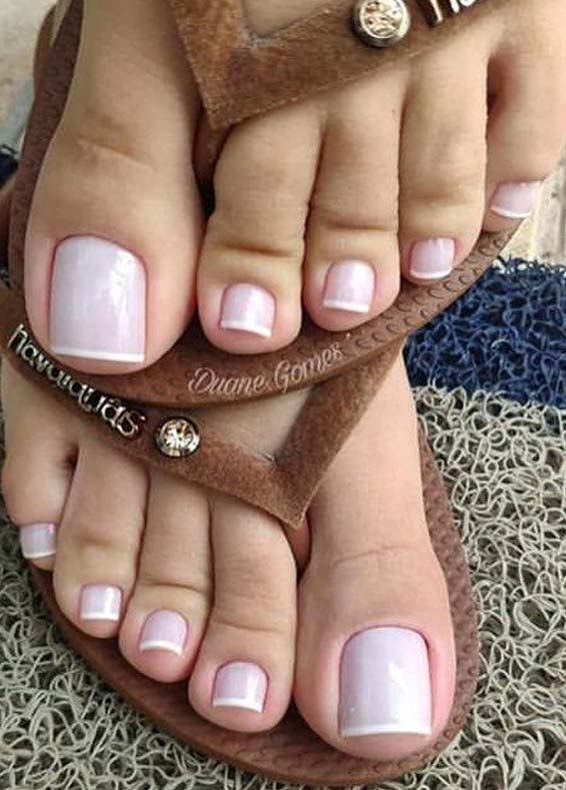 Graceful Nail Designs For Beautiful Feet In 2019 Stylezco