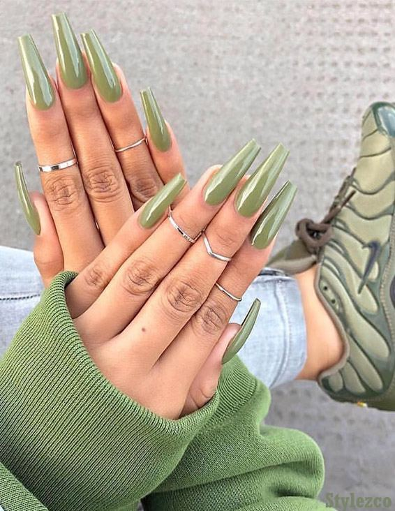 Simple & Easy Nail Designs for 2019 Winter Season