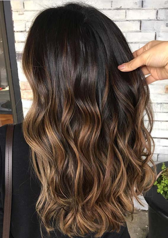 Stunning Dark Chocolate Caramel Hair Colors For 2019