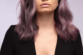 Violet Burgundy Hair Colors And Highlights for 2019
