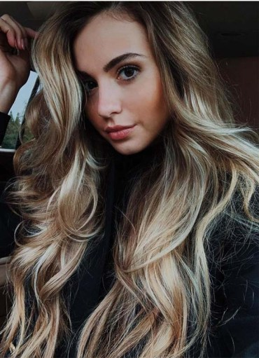 Balayage Highlights for Long Waves in 2019