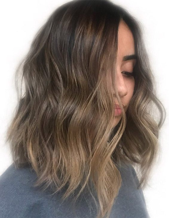 Gorgeous 2019 Caramel Ombre Hair Color Highlights