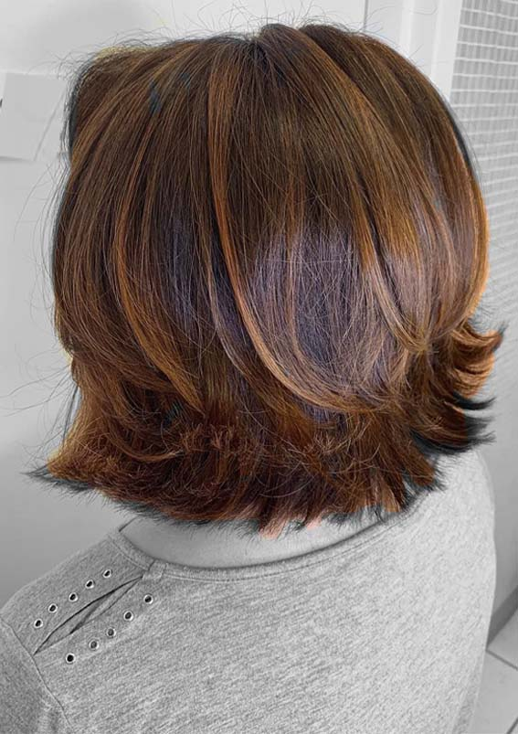 Copper Balayage Hair Color Ideas for 2019