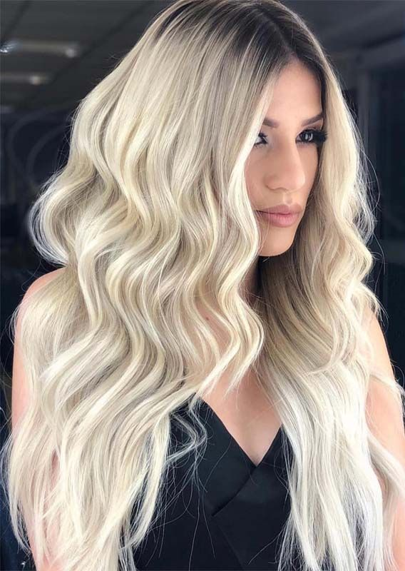 Latest Face Framing Long Blonde Hairstyles Ideas For 2019