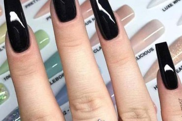 Hottest Black Nail Arts & Images in 2019