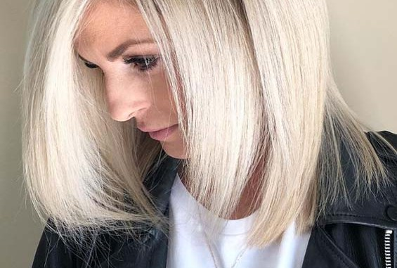 Natural Sunlight Blond Hair Colors for Short Hair in 2019