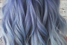 Pastel Blue Hair Color Trends for 2019