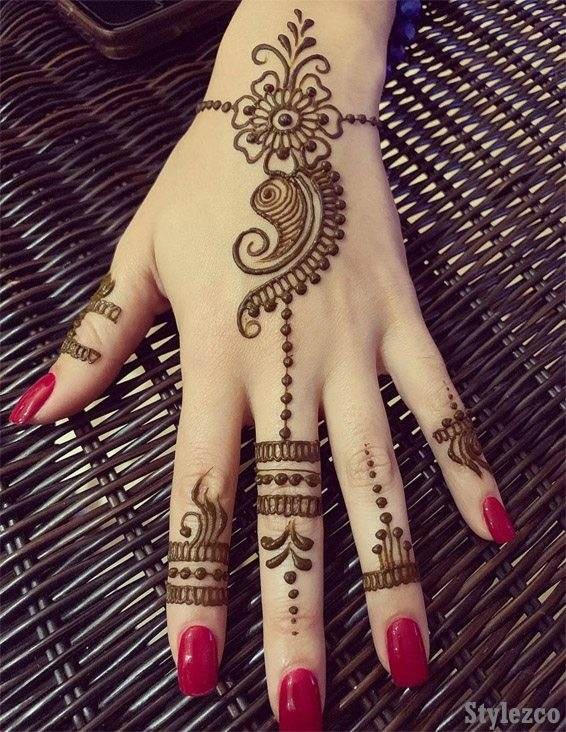 Simple Amp Easy Henna Mehndi Designs For Superior Girls