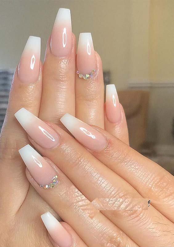 Simply Beautiful Nail Designs for Fashionable Women 2019