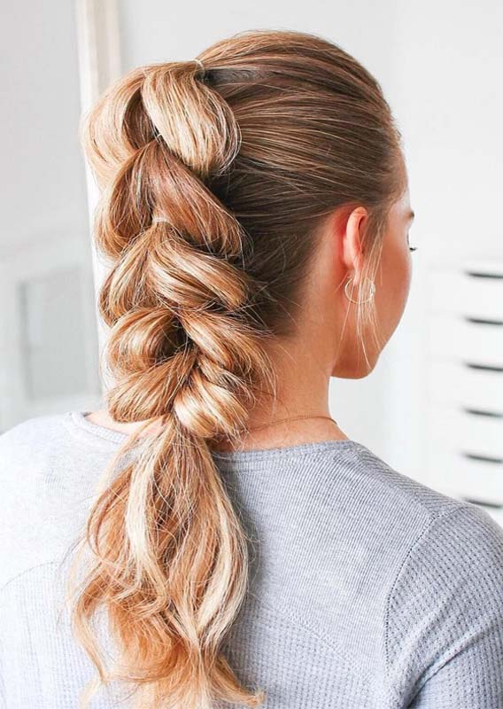 Stunning Pull Through Braids in 2019