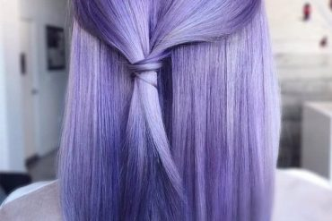 Trendy Purple Hair Color Ideas & Styles for 2019