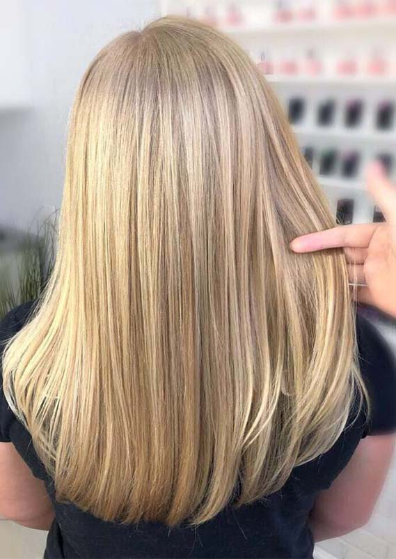 Fantastic Balayaged Sleek Straight Hairstyles for Women 2019