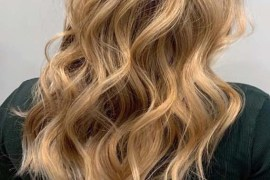Beach Waves Balayage Highlights for 2019
