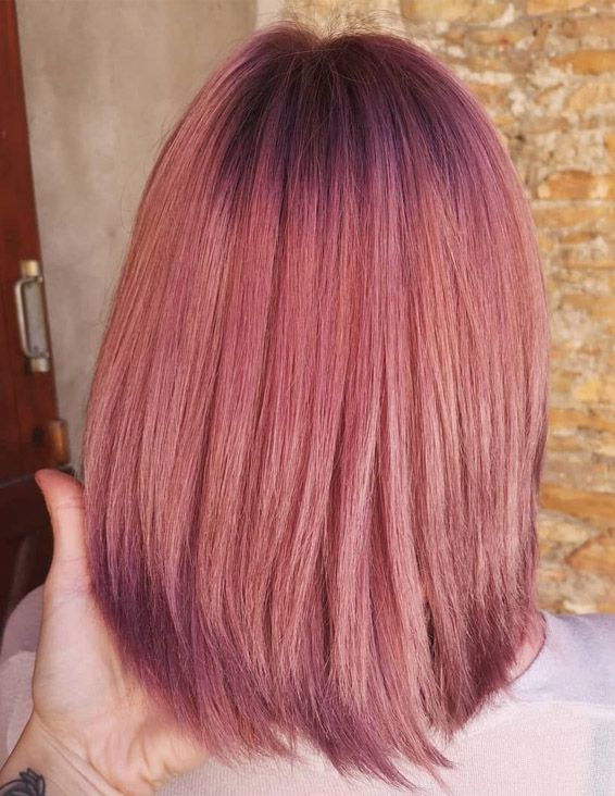 Beautiful Pink Shades Amp Highlights For Short Hair In 2019