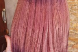 Beautiful Pink Shades & Highlights for Short Hair In 2019