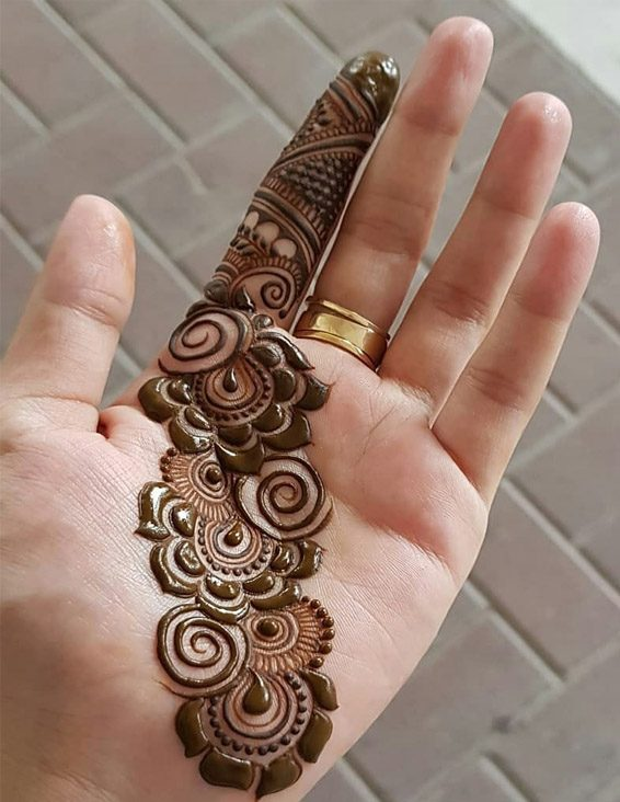 Best Henna Mehndi Design For Your Beautiful Finger Stylezco