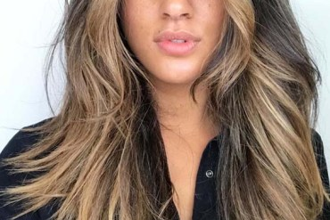 Bronde Hair Color Contrasts for 2019