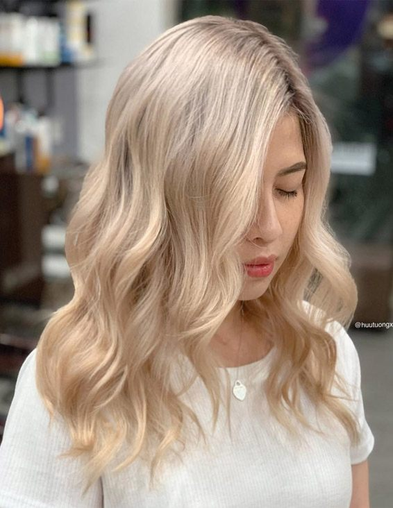 Delightful Shades of Blonde Hair Color Highlights for 2019