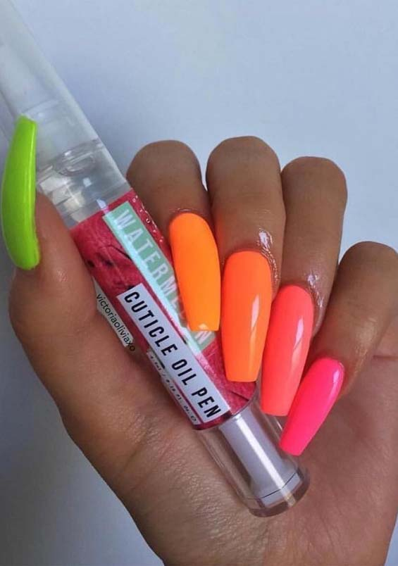 Amazing Long Acrylic Nail Art Designs For Ever Woman In
