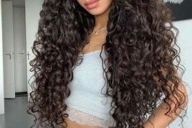 Long Curly Hairstyles & Haircuts for Women 2019