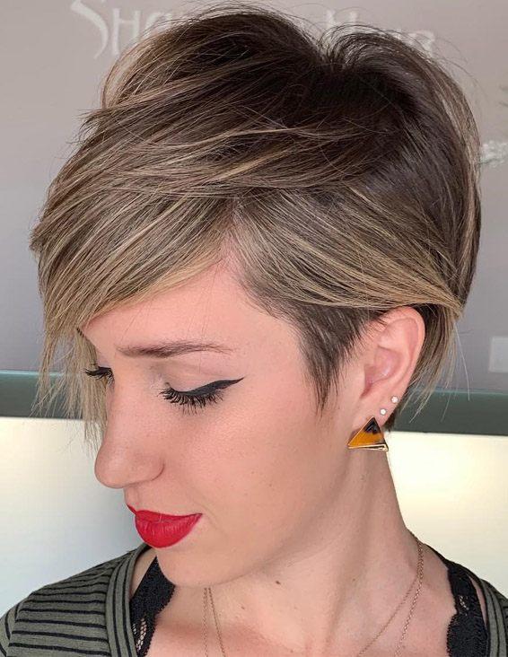Modern & Ideal Pixie Haircuts for Short Hair