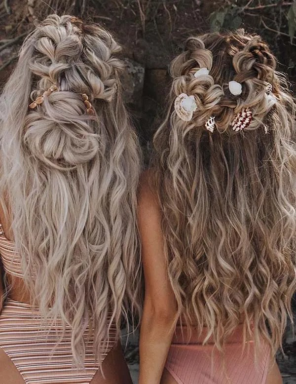 Wedding bridal hairstyles for long hair in 2019