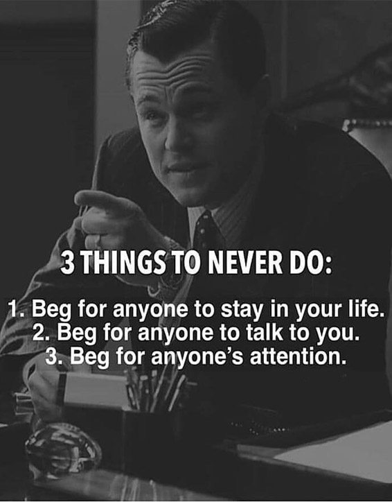3 Things to Never Do - Best Quotes about Life
