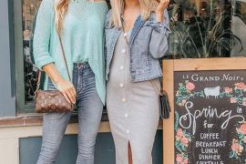 Adorable Spring Season Fashion Style To Wear Now