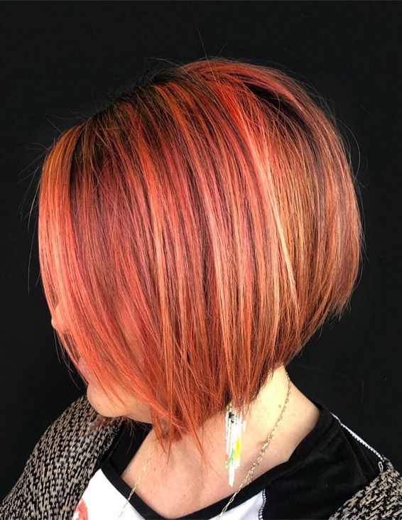 Best Short Haircuts with Pink Shades for 2019