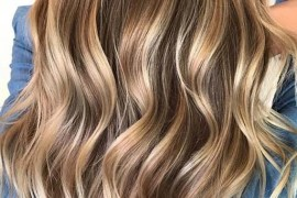 Blonde Balayage Textured Haircuts for 2019