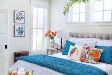 Bright and Colorful Bedroom Designs for 2019