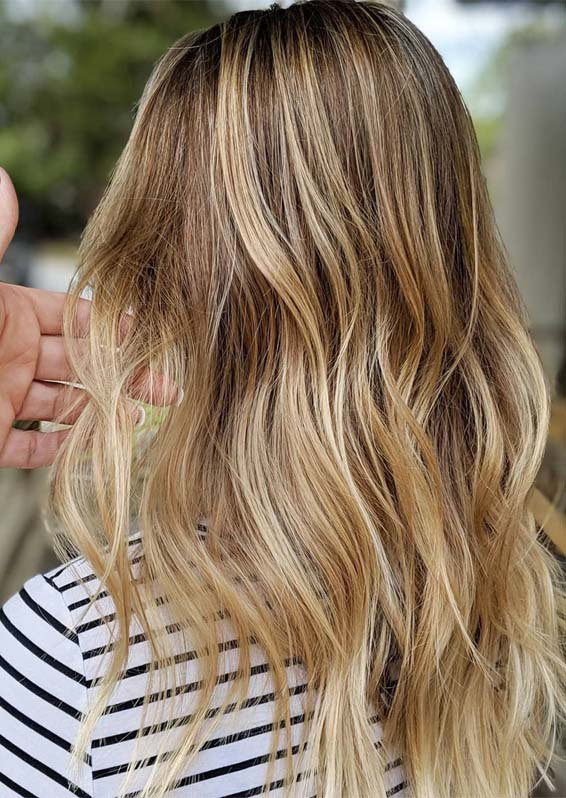 Brown Balayage Hair Color Trends in 2019