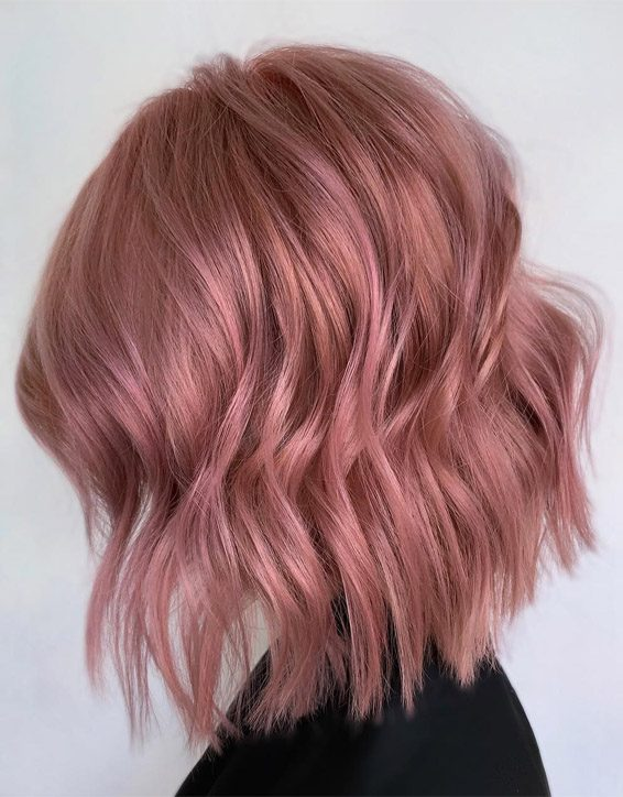 Charming Pink Bob Haircuts You can Wear Now