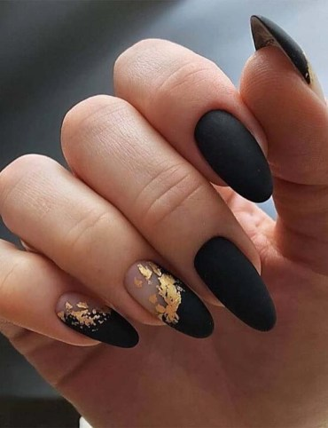 Fabulous Black Nail Arts and Images in 2019