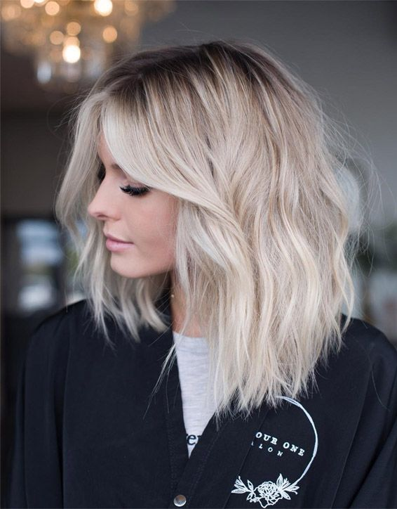 Greatest Lob Haircut for Medium Hair In 2019