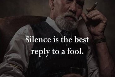 Silence is the Best Reply - Silence Quotes & Sayings