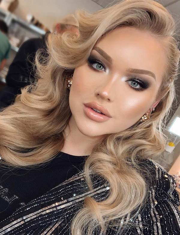 Wonderful Hair Colors & Makeup Combo for 2019