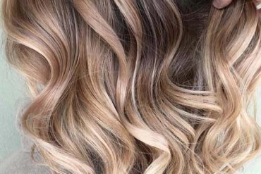 Balayage Ombre Curls for Ladies in 2019