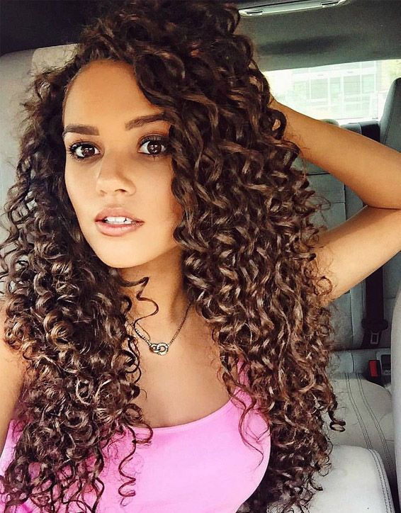 Elegant Curly Hairstyles for Long Hair In 2019