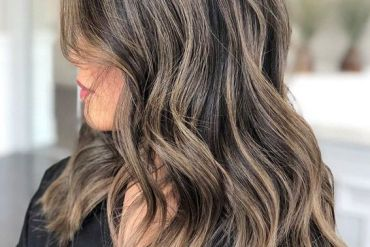 Gorgeous Brown Babylights & Hair Color Shades