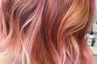 Awesome Peach Hair Color Trends for Ladies in 2019