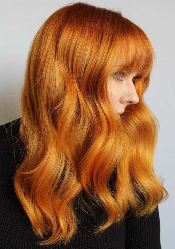 Best Ginger Red Hair Color Shades for Hot Hair in Year 2019 ...