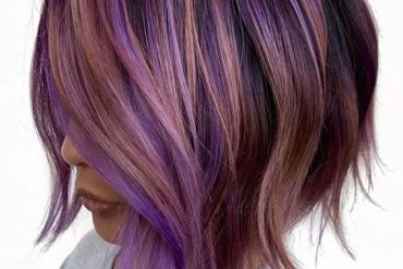 Purple Blonde Hair Ideas for Short Hair To Copy Now