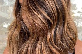 Summer Bronze Balayage Hair Color Highlights for 2019