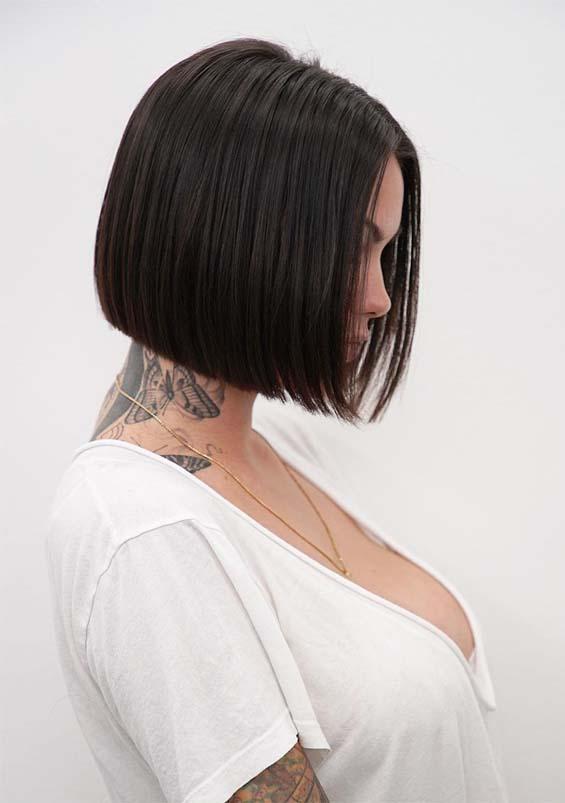 Beautiful Short Bob Haircuts & Hairstyles for 2019