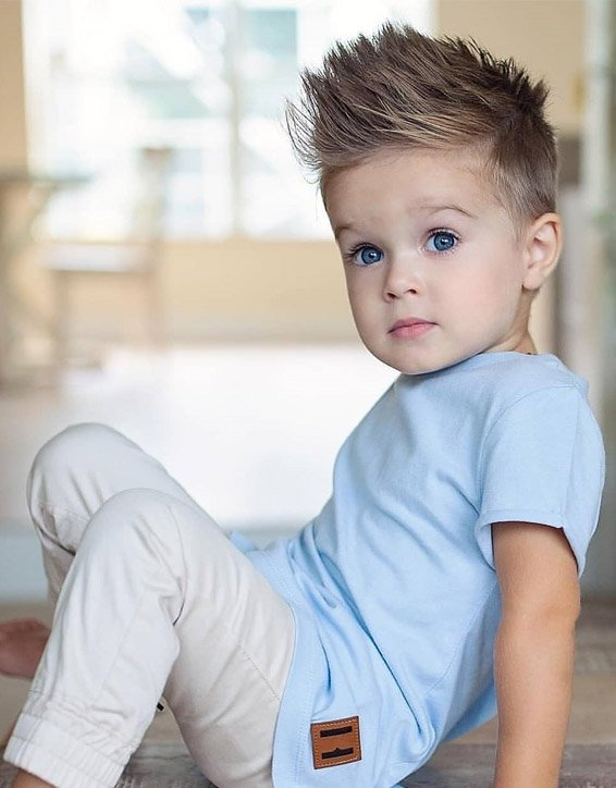 Edgy Look Of Kids Boys Hairstyles For The Year Of 2019 Stylezco