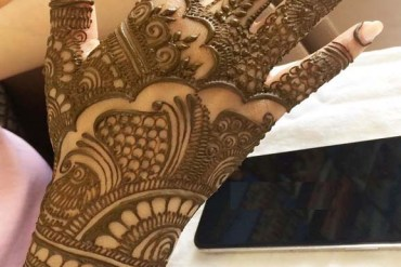 Fresh Mehndi Designs to Follow Nowadays