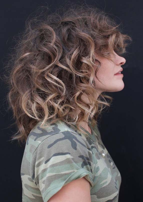 Short Curly Haircuts For Women 2019 79